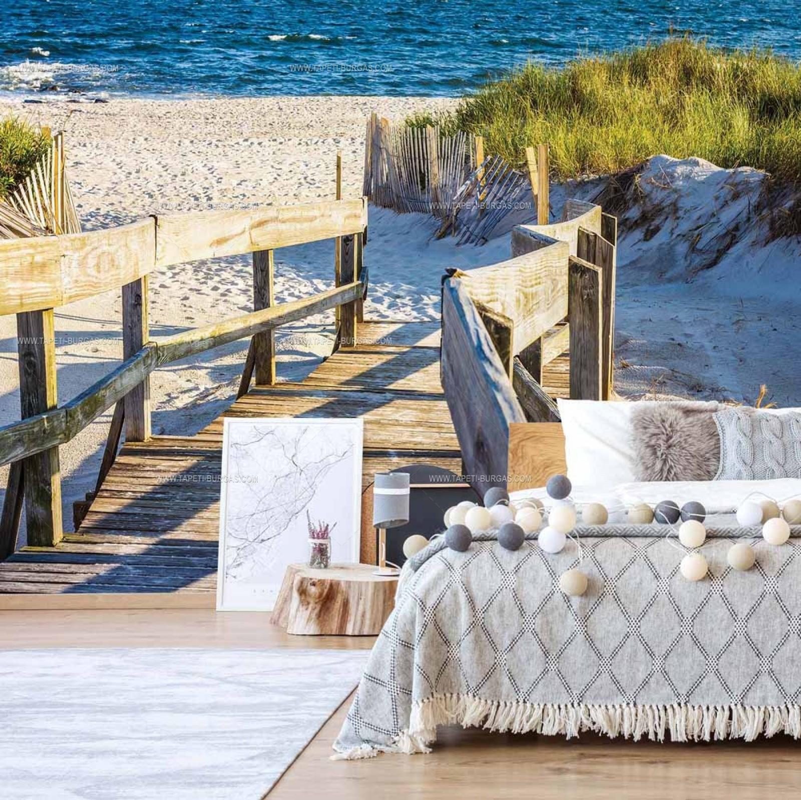 Фототапет Мостчето на плажа