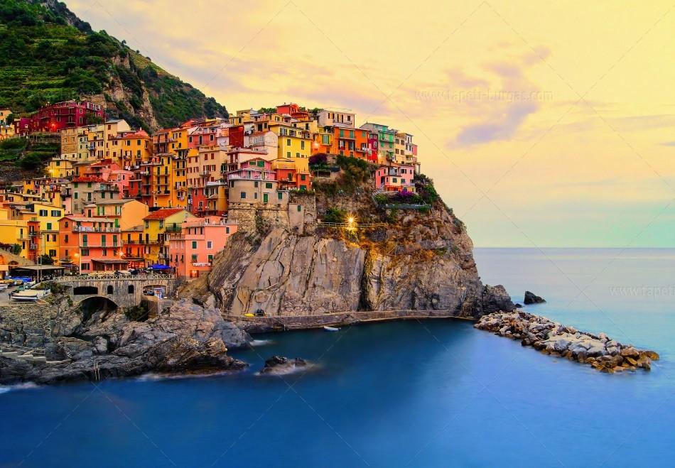 Фототапет Cinque Terre coast