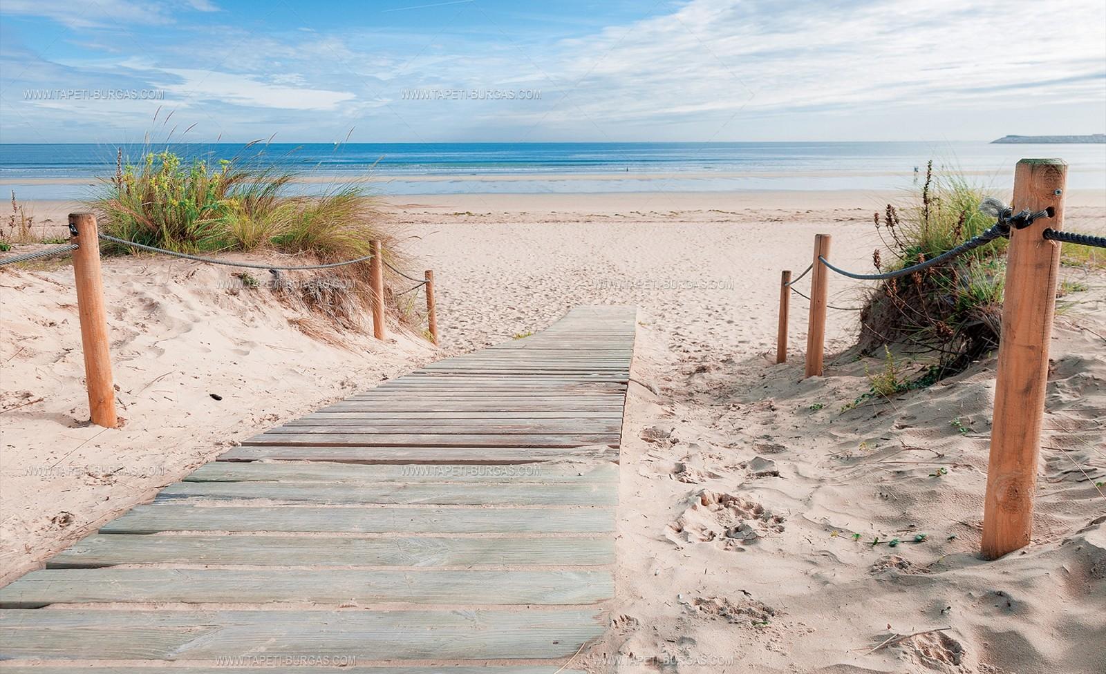 Фототапет Пътека към плажа