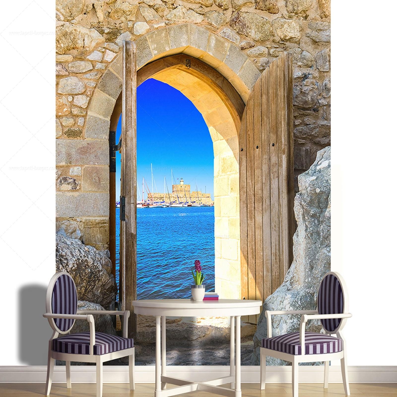 Фототапет Врата към морето