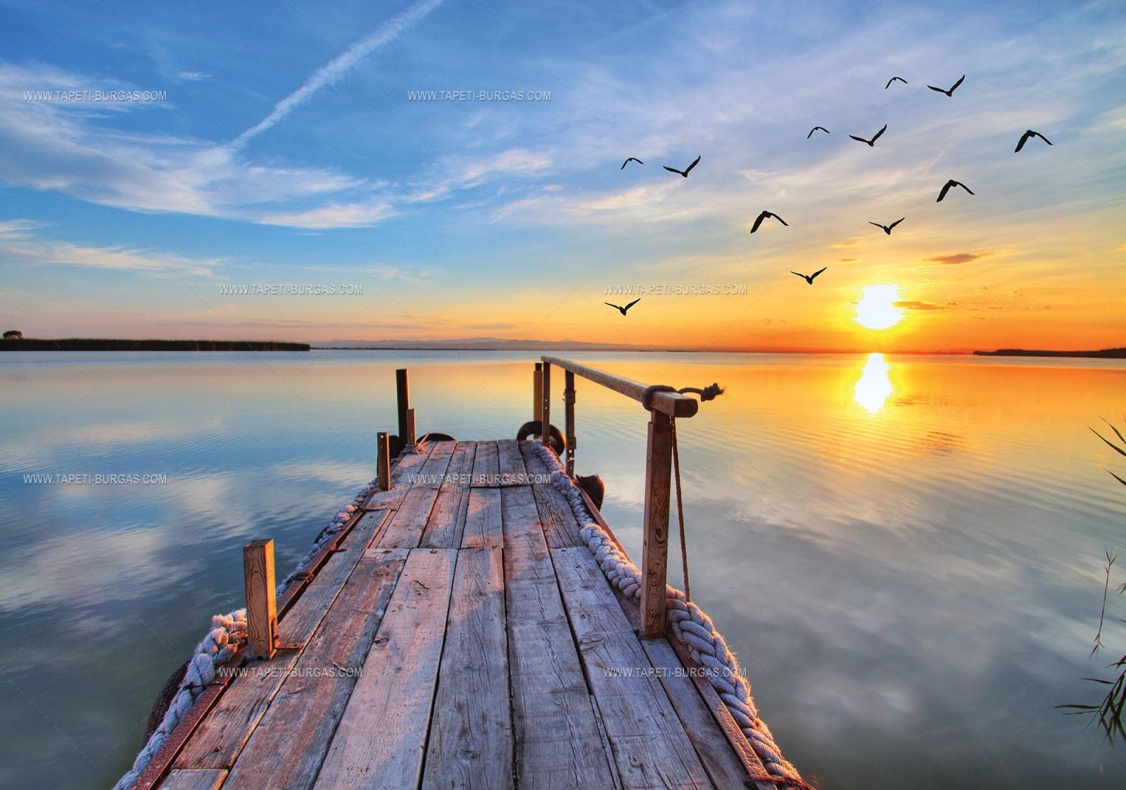 Фототапет Дървеното мостче
