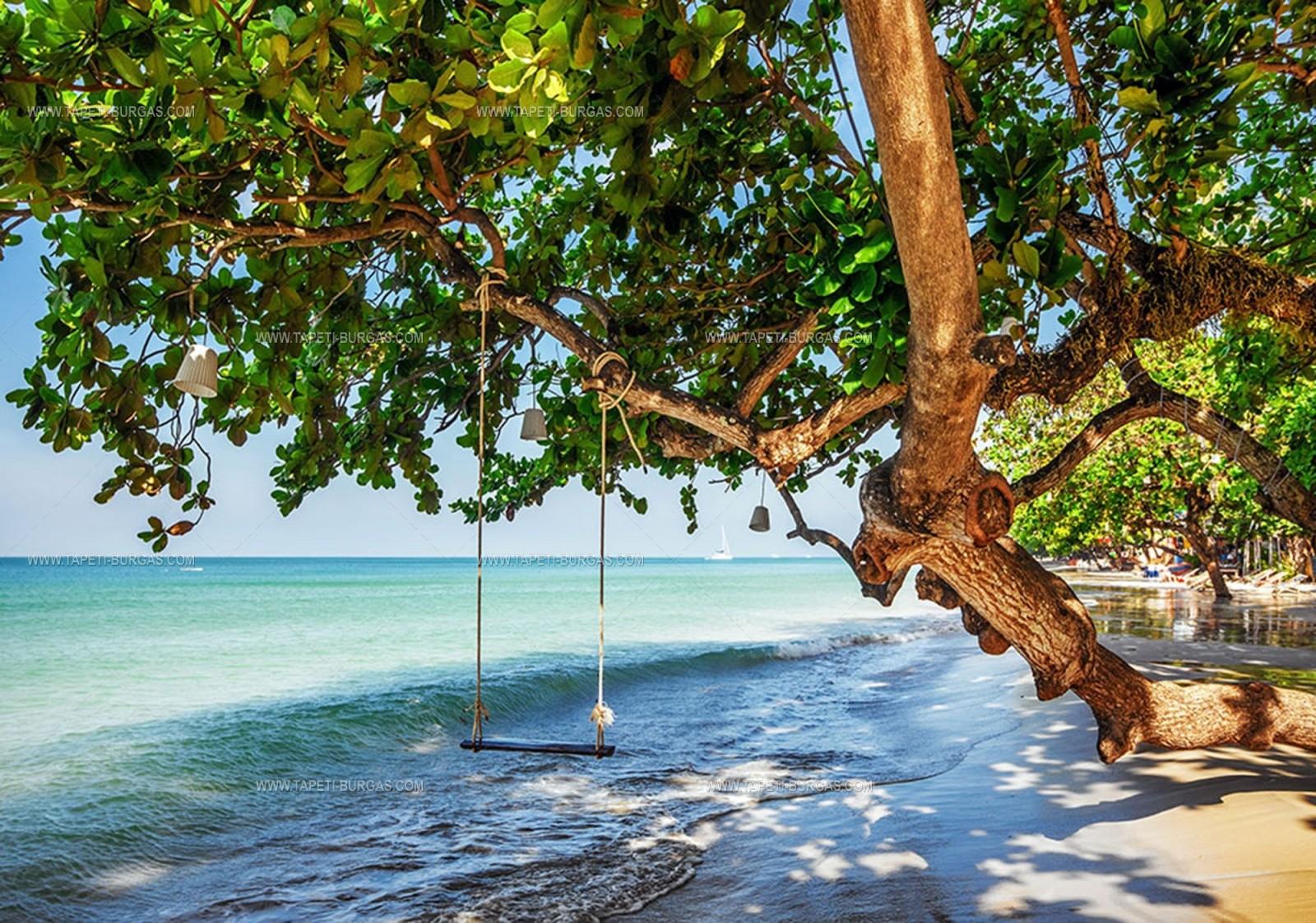 Фототапет  Люлка на плажа