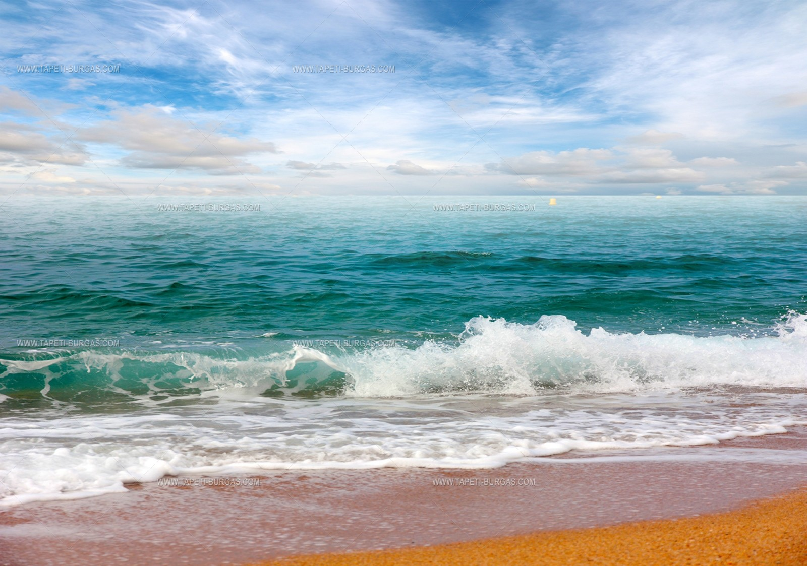 Фототапет Тюркоазено море