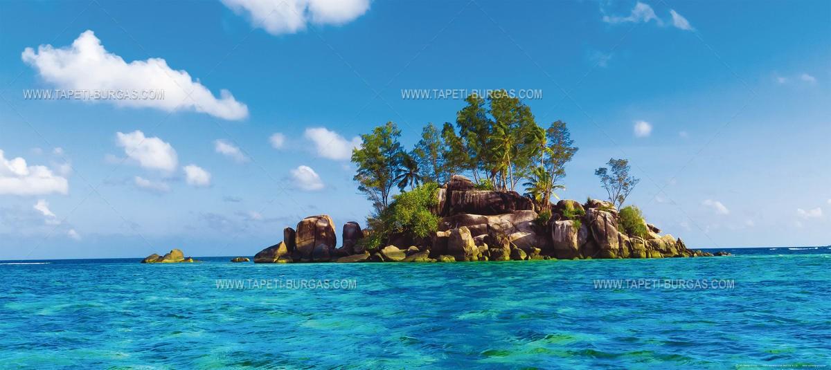 Фототапет на флис основа - Остров